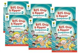 Book Oxford Reading Tree: Year 1/Year 2 Biff, Chip and Kipper Companion 2 Pack of 6 by Roderick Hunt