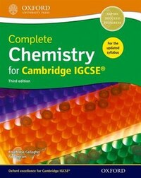 Complete Chemistry for Cambridge IGCSE RG Student book