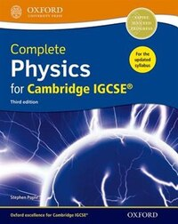 Complete Physics for Cambridge IGCSE RG Student book