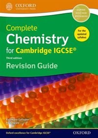 Complete Chemistry for Cambridge IGCSE RG Revision Guide