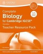 Complete Biology for Cambridge IGCSERG Teacher Resource Pack