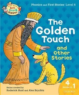 Book Oxford Reading Tree Read with Biff, Chip and Kipper: Level 6 Phonics and First Stories The Golden… by Roderick Hunt