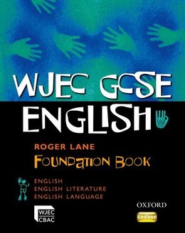 Book WJEC GCSE English Foundation: Student Book by Roger Lane