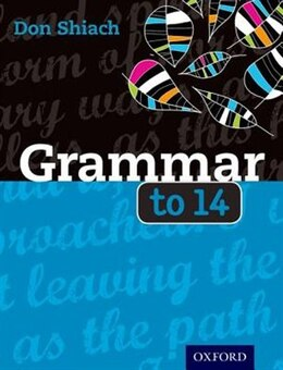 Book Grammar to 14 by Don Shiach