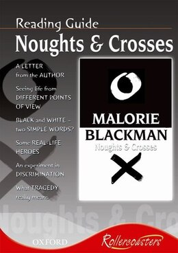 Book Rollercoasters: Noughts and Crosses Reading Guide by Frances Gregory