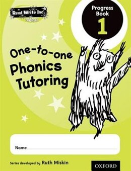 Book Read Write Inc. Phonics: One-to-One Phonics Tutoring Progress Book 1 Pack of 5 by Ruth Miskin