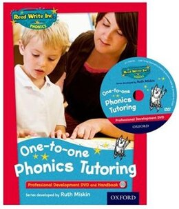 Book Read Write Inc. Phonics: One-to-One Tutoring Kit Professional Development DVD and Handbook by Ruth Miskin