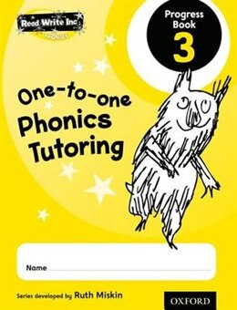 Book Read Write Inc. Phonics: One-to-One Phonics Tutoring Progress Book 3 Pack of 5 by Ruth Miskin