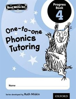 Book Read Write Inc. Phonics: One-to-One Phonics Tutoring Progress Book 4 Pack of 5 by Ruth Miskin