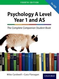 Book The Complete Companions: AQA Psychology Year 1 and AS Student Book by Mike Cardwell