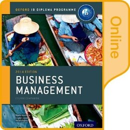 Book IB Business Management Online Course Book: Oxford IB Diploma Programme by Martin Mwenda Muchena