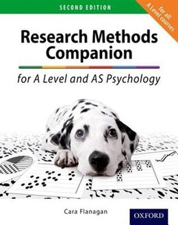 Book The Research Methods Companion for A Level Psychology by Cara Flanagan