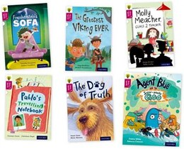 Book Oxford Reading Tree Story Sparks: Oxford Level 10 Pack of 6 by Timothy Knapman