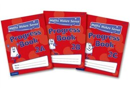 Book Maths Makes Sense: Y2 ABC Progress Books Mixed Pack by Richard Dunne
