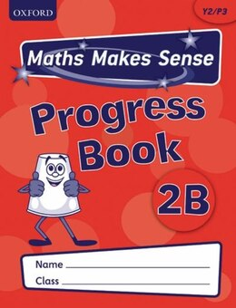 Book Maths Makes Sense: Y2 B Progress Book Pack of 10 by Richard Dunne