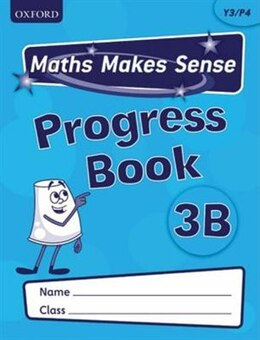 Book Maths Makes Sense: Y3 B Progress Book Pack of 10 by Richard Dunne