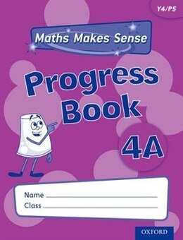 Book Maths Makes Sense: Y4 A Progress Book by Richard Dunne