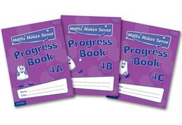Book Maths Makes Sense: Y4 ABC Progress Books Mixed Pack by Richard Dunne