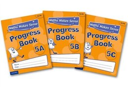 Book Maths Makes Sense: Y5 ABC Progress Books Mixed Pack by Richard Dunne