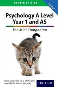 Book The Complete Companions: A Level Year 1 and AS Psychology: The Mini Companion for AQA by Mike Cardwell