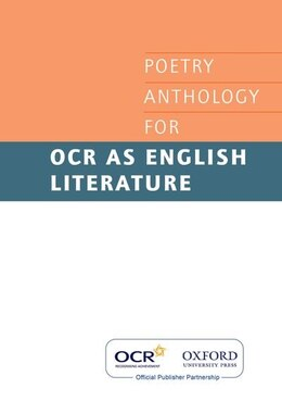 Book OCR GCE Poetry Anthology by Oxford