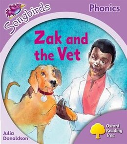 Book Oxford Reading Tree: Stage 1 - Songbirds Zak and the Vet by Alan Marks