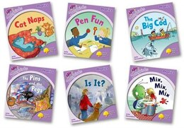 Book Oxford Reading Tree More Songbirds Phonics: Level 1+ Pack (6 books, 1 of each title) by Julia Donaldson