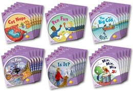 Book Oxford Reading Tree: Stage 1+: More Songbirds Phonics Class Pack (36 books, 6 of each title) by Julia Donaldson