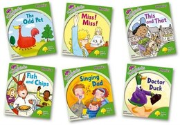 Book Oxford Reading Tree Songbirds Phonics: Level 2 Mixed Pack of 6 by Julia Donaldson