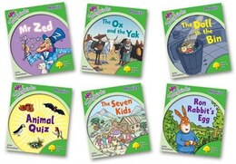 Book Oxford Reading Tree More Songbirds Phonics: Level 2 Pack (6 books, 1 of each title) by Julia Donaldson