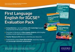 Book First Language English for IGCSERG Evaluation Pack by Oxford