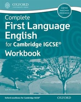 Book First Language English for Cambridge IGCSERG Workbook by Jane Arredondo