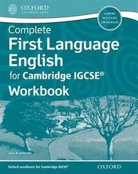 First Language English for Cambridge IGCSERG Workbook