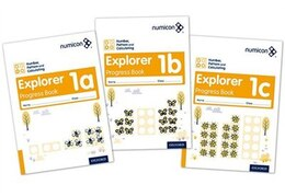 Book Numicon: Number, Pattern and Calculating 1 Explorer Progress Books ABC (Mixed pack) by Ruth Atkinson