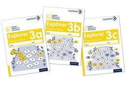 Book Numicon: Number, Pattern and Calculating 3 Explorer Progress Books ABC (Mixed pack) by Ruth Atkinson