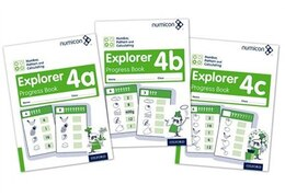Book Numicon: Number, Pattern and Calculating 4 Explorer Progress Books ABC (Mixed pack) by Jayne Campling