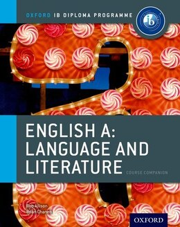 Book IB English A Language and Literature: Course Book by Rob Allison