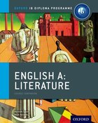 IB English A Literature: For the IB diploma