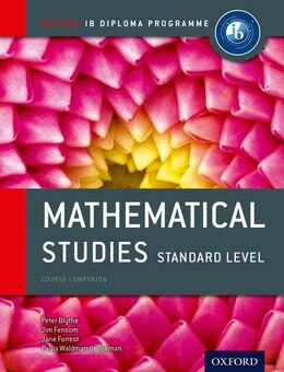 Book IB Mathematical Studies Standard Level by Peter Blythe