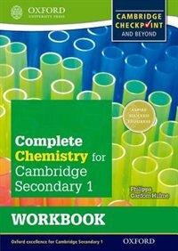Book Complete Chemistry for Cambridge Secondary 1 Workbook: For Cambridge Checkpoint and beyond by Philippa Gardom Hulme