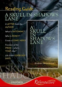 Book Rollercoasters: A Skull in Shadows Lane Reading Guide by Julie Moxon