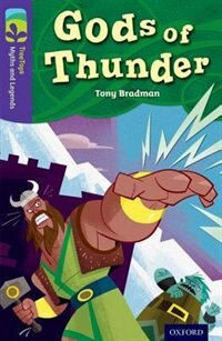 Book Oxford Reading Tree TreeTops Myths and Legends: Level 11 Gods Of Thunder by Tony Bradman
