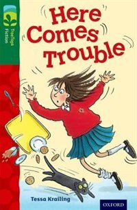 Book Oxford Reading Tree TreeTops Fiction: Level 12 More Pack A Here Comes Trouble by Tessa Krailing