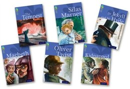 Book Oxford Reading Tree TreeTops Classics: Level 17 More Pack A Pack of 6 by Robert Louis Stevenson