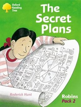 Book Oxford Reading Tree: Robins Pack 2 The Secret Plans by Roderick Hunt