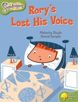 Book Oxford Reading Tree: Stage 7: Snapdragons Rorys Lost His Voice by Malachy Doyle