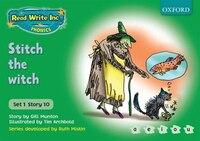 Read Write Inc. Phonics: Green Set 1 Storybooks Stitch the Witch