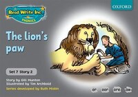 Read Write Inc. Phonics: Grey Set 7 Storybooks The Lions Paw