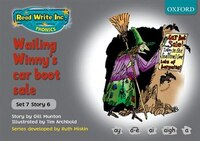 Read Write Inc. Phonics: Grey Set 7 Storybooks Wailing Winnys Car Boot Sale