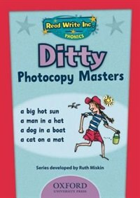 Book Read Write Inc. Phonics: Ditty Photocopy Masters by Ruth Miskin